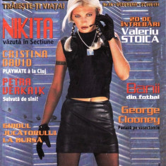 REVISTA PLAYBOY NR 10 DIN OCTOMBRIE 2000 (NIKITA) - Reviste XXX