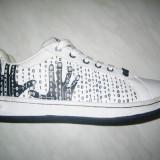 -Pantofi sport barbati WINK;cod FF639-1; culoare alb; marime 41-46
