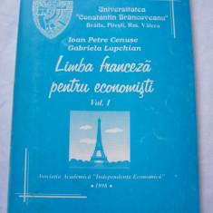 LIMBA FRANCEZA PENTRU ECONOMISTI , VOL 1 .