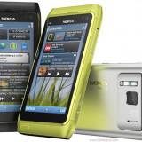 Vand Nokia N8 Dark Grey codat orange cu factura si garantie. Pachet full. - Telefon mobil Nokia N8, Gri