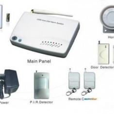 Alarma Casa GSM02 Wireless Model nou 2013 + Senzor Shock Cadou !!