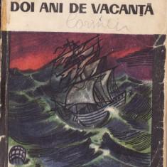 DOI ANI DE VACANTA de JULES VERNE - Carte de aventura
