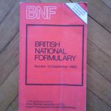 BRITISH NATIONAL FORMULARY, Number 18 (September 1989)