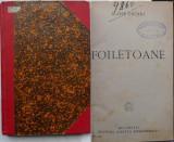 Ilarie Chendi , Foiletoane , 1925 , prima editie