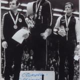 Autograful campionului olimpic si mondial la lupte greco romane , Stefan Rusu