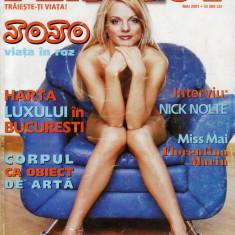 REVISTA PLAYBOY DIN MAI 2001 (JOJO) - Reviste XXX