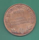 MEDALIE  UZINA DE CONSTRUCTII MASINI - RESITA