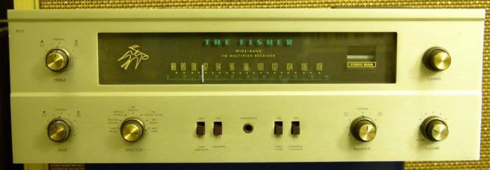 The Fisher 400 pe tuburi (lampi) Stereo tube receiver foto mare