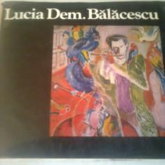 LUCIA DEMETRIADE BALACESCU ~ DRAGOS MORARESCU & PETRE OPREA - Album Pictura