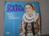 Florica zaha de pe valea crisului disc vinyl lp muzica populara folclor EPE 2404, VINIL, electrecord