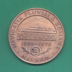 MEDALIE NAVROM - NAVIGATIA FLUVIALA - Medalii Romania