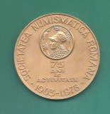 MEDALIE SOCIETATEA NUMISMATICA ROMANA - 2