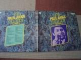 Paul Anka collection dublu disc vinyl 2 lp muzica rock n roll pop hituri best of, VINIL, rca records