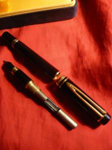Stilou de Lux - Waterman -100 Ani - penita Aur 18 K