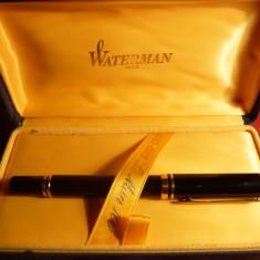 Stilou de Lux - Waterman -100 Ani - penita Aur 18 K - Jubiliare