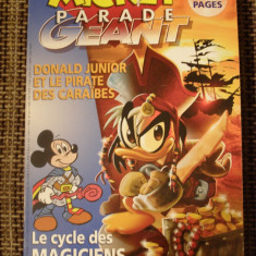 Mickey Parade Geant - benzi desenate lb. franceza nr. 298 - Reviste benzi desenate Altele