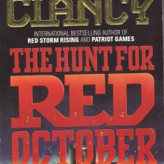 Carte in limba engleza : Tom Clancy - The Hunt for Red October (in stare noua)