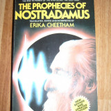 THE PROPHECIES OF NOSTRADAMUS ERIKA CHEETHAM
