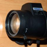 Lentila obiectiv varifocala autoiris Computar 5-50mm nou Japonia