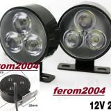 Lumini de zi, daytime running lights, DRL, daylights, proiectoare cu led, 3 led