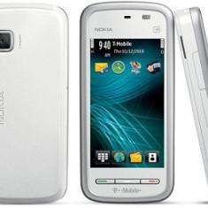 Nokia 5230 impecabil . - Telefon mobil Nokia 5230, Alb