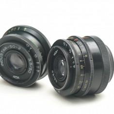 Industar 50 si Industar 50-2 - Obiective RF (RangeFinder)