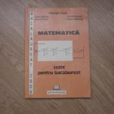 Matematica teste pentru bacalaureat