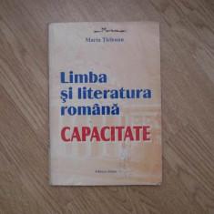 Limba si literatura romana CAPACITATE - Carte Teste Nationale Altele