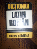 Dictionar latin - roman - Gh. Gutu