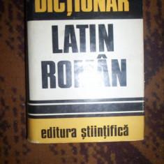 Dictionar latin-roman-Gh.Gutu
