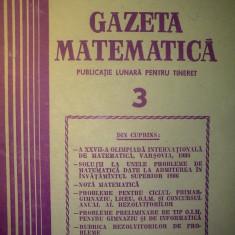Gazeta matematica - Nr. 3 / 1987 , Anul XCII