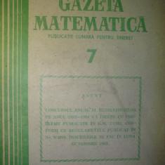 Gazeta matematica - Nr. 7 / 1983 , Anul LXXXVIII