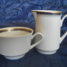 Set cafea, portelan fin