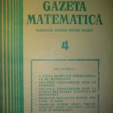 Gazeta matematica - Nr. 4 / 1986 , Anul XCI