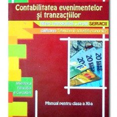 Contabilitatea evenimentelor si tranzactiilor Cd Press XI - Manual scolar cd press, Clasa 11