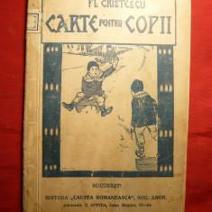 Florian Cristescu - Carte pentru Copii -cca.1927 - Carte educativa