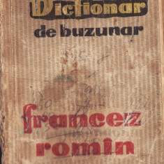 DICTIONAR DE BUZUNAR FRANCEZ ROMAN teora