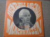 Aventurile baronului Munchhausen disc vinyl lpteatru dramatizare poveste copii, VINIL, electrecord