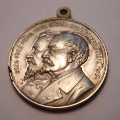 Medalie Cuza Voda, Mihail Kogalniceanu In amintirea ridicarii statuilor lor Iasi