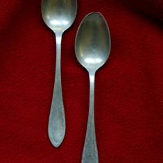 2 lingurite berndorf alpacca - Argint