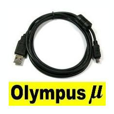 Cablu usb Olympus CB-USB5, CB-USB6 D-595, D-630, E-400, E-410, E-420, E-500, E-510 - Cablu foto