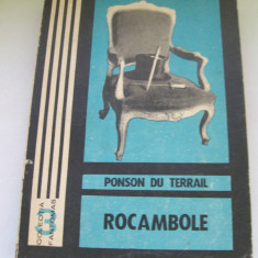 ROCAMBOLE PONSON DU TERRAIL NR, 3, 7 DRAMELE PARISULUI MOSTENIREA MISTERIOASA VOL, 1, 2 - Carte de aventura