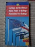 road atlas of europe harti turism ghid auto europa cartographia hobby calatorie
