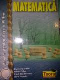 Matematica - Manual pentru clasa a VIII-a - Corneliu Savu