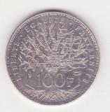Moneda ARGINT - Franta - 100 Francs 1982, Europa