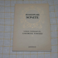 Shakespeare - Sonete - Editura Junimea - 1978