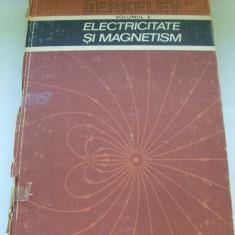 CURS DE FIZICA BERKELEY ELECTRICITATE SI MAGNETISM VOL, II didactica si pedagogica