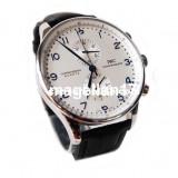 IWC Schaffhausen Portuguese Chronograph-- Cea mai buna calitate! CUTIE CADOU ***