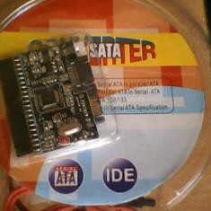 Adaptor bi-directional, Sata-IDE; IDE-Sata - Adaptor interfata PC