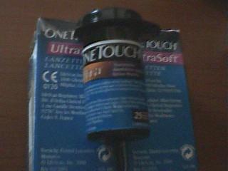 Vand Lamele  testere ptr glucometru One Touch ULTRA Soft foto